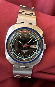 Vintage Seiko Bell-Matic Mens Watch 17 Jewels 4006-6027