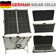 ** £100 DISCOUNT SALE ** 150W 12V folding solar panel charge kit caravan boat RV