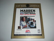 Madden NFL Football Limited Gold Edition PC CD Rom Big Box-NEU & VERSIEGELT