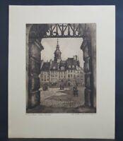 Walter Romberg (Ulm 1898 - 1973 Stuttgart) - Warschau alter Markt (55/136)
