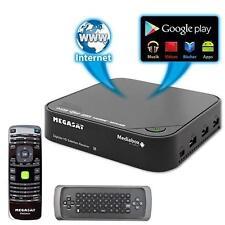 Megasat Mediabox Full-HD Smart TV Box 4K HD Sat-Receiver DVB-S2 IPTV WLAN HDMI