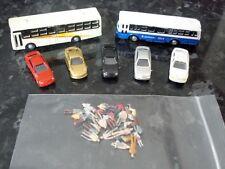 N Gauge Buses, Cars & People