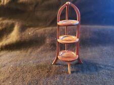 Dollhouse Artisan Miniature  Don Cnossen Signed Pie Stand