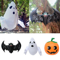 Inflatable Ghost Bat Outdoor Yard PVC Horrible Animated Halloween Decorate UK