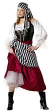 InCharacter Premier Pirate Wench Adult Costume sm 4-6