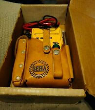 Vintage Beha Lt 277 Gas Lamp Tester Optical With Case Amp Leads Great Shape