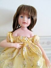 Jane Bradbury Resin/Cloth Doll, Excellent Condition/ 242/500 Pcs, 2001, 16""