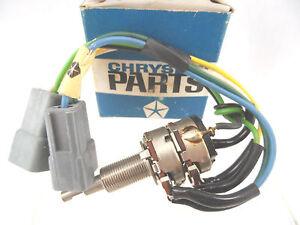 NOS Headlight Sentinel & Dimmer Switch 1969-70 Chrysler 1969-70 Imperial 2864423