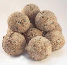 Premium Wild Birds Treat Food Fat Suet Balls No Net Bird Feed