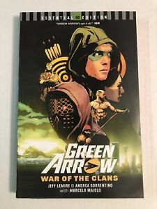 Green Arrow War of the Clans (DC) Essential Edition Jeff Lemire Sweettooth NM