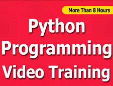 Python Programming language video training tutorial CBT - 8+ Hours
