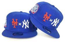 New Era New York Yankees X New York Mets X Royal Blue Snapback Hat