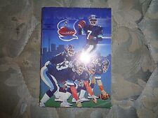 1985 TORONTO ARGONAUTS MEDIA GUIDE Yearbook CFL Canadian Football League Argo AD
