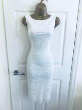 Monsoon Artisan White Hand Beaded Sequinned Occasion Summer Midi Dress £369! 12