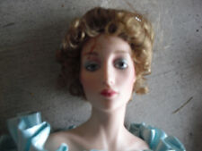 """RARE Franklin Mint Porcelain Gibson Girl Night at Opera Prototype Doll 21"""" Tall"""