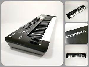 M-AUDIO OXYGEN 61 MK IV   Professional 61-Key USB MIDI Keyboard Pad Controller