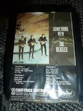 THE BEATLES SOMETHING NEW 8 TRACK