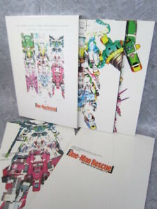 VIRTUAL ON Cyber Troopers MATRIX COLLECTION Art Book Set 2000 MW See Condition
