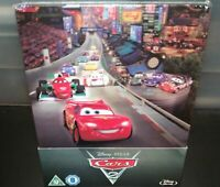 [Blu-ray] CARS 2 Steelbook - VF NON INCLUSE - NEUF SOUS BLISTER