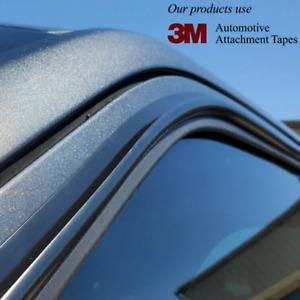 🆕DIY For ACURA Side Window Rain Water Guard Gutter Visor Trim Channel Deflector