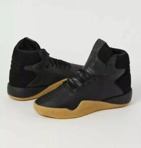 Men's adidas Originals Tubular Instinct Boost Shoes 12 Black gum rubber by3611