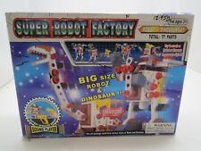 Super Robot Factory. Build Robots & Dinosaurs.Motorized. Cyber Toy.