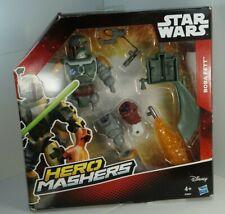 Hasbro Star Wars B3667 Héroe Mashers Boba Fett Figura Deluxe 15 cm MIB! nuevo!