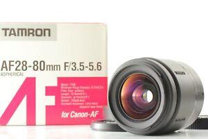 RARE【UNUSED】 Tamron AF 28-80mm f/3.5-5.6 Zoom Lens Canon EF Mount EOS Japan 1677