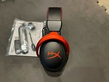 NB HyperX Cloud II Wireless Over Ear Gaming Headset PC PS4 Switch XBOX  Red
