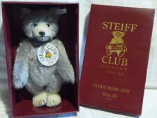 STEIFF Teddy Baby 420016 blau 28 cm Replica 1929 OVP unbespielt