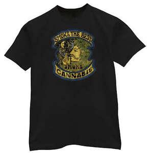 Smoke The Best Smoke Cannabis Weed Marijuana T-shirt