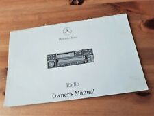 Mercedes BECKER Special Exquisit Alpine CD Special Radio Guide Instruction Book