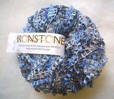 Ironstone HOT STUFF Yarn Deep Ocean METALLIC & TEXTURE FUN Worsted Flag 50 Grams