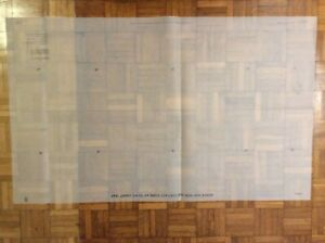 WRECK & NON-SUB CONTACT OVERLAY TO FIT - ADMIRALTY CHART 1942 - PRINTED 2006