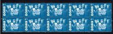 Oasis British Rock Group Strip Of 10 Mint Vignette Stamps