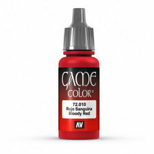VALLEJO GAME COLOR VAL72010 Blood Red or any other or mix of 17ml bottles