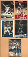 1993-94 Ultra-Stadium-Upper Deck-Hoops Anfernee Hardaway Rookies Lot/5 Read