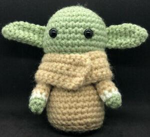 GROGU Crochet Handmade The Child Baby Yoda Inspired by The Mandalorian