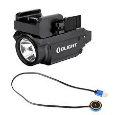 Olight Baldr Mini Black 600 Lumen Pistol LED Flashlight with Laser Sight