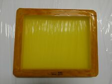 Screen Printing Frames--Box of 6--14 x 17 Wood with 155 Dyed Mesh