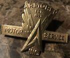 vintage+armored+car+Motor+Service+Badge+pin