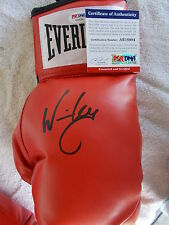 WINKY WRIGHT 2 X CHAMPION HAND SIGNED EVERLAST LEFT BOXING GLOVE PSA AB18984