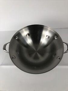 """Calphalon Nonstick Stainless Steel Double Boiler Insert # 104 11"""" Handles"""