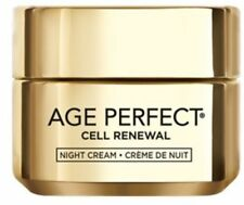 L'Oreal Age Perfect Cell Renew Night Cream: Moisturizer 1.7 oz