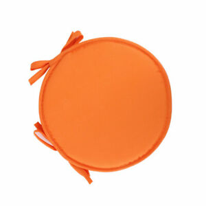 Chair Cushion Pad Round Thick Seat Patio Car Office Dining Home Non-Slip Mat #r
