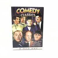 Comedy Classics (Abbott & Costello / 3 Stooges/ Laurel & Hardy) 4 Disc DVD Set