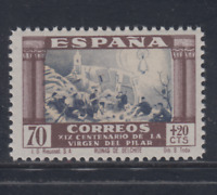 ESPAÑA (1940) MNH NUEVO SIN FIJASELLOS - EDIFIL 895 (70 cts + 20 cts) LOTE 3