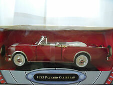 "YAT MING ""ROAD SIGNATURE"" 1953 PACKARD CARIBBEAN (BURGUNDY) 1/18 DIECAST MODEL"