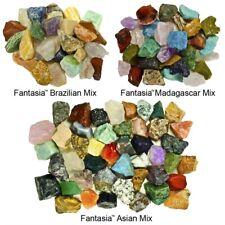 6 lbs Rough Stone World Mix - 2 lb Brazilian, 2 lb Madagascar, 2 lb Asian Rocks