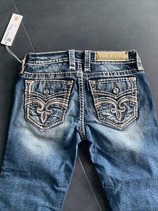 Neu Rock revival Damen Capri jeans Gr. 26 S Pine Grove